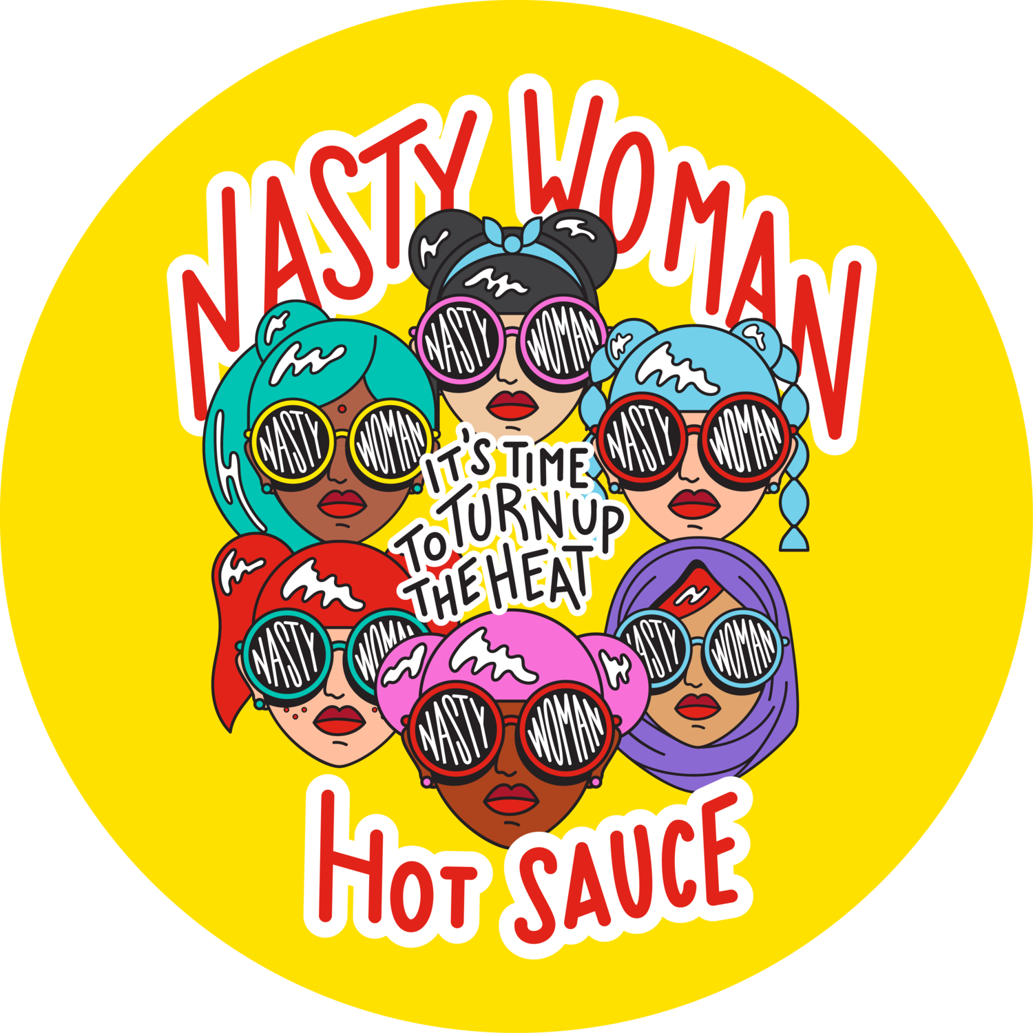 Nasty Woman Hot Sauce