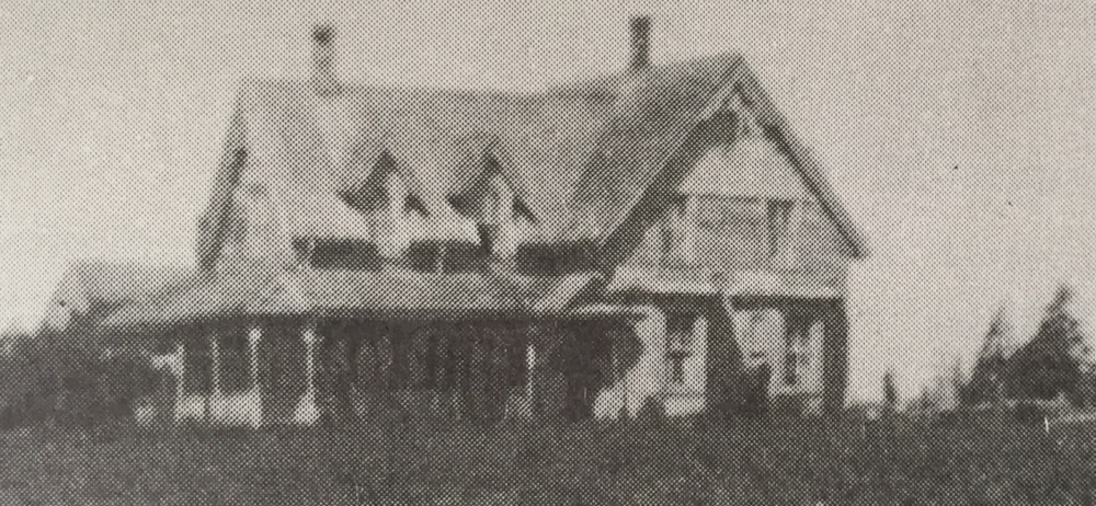 The Stanley Maynard House, the farmhouse originally part of this home