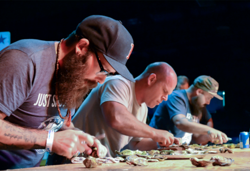 Canadian Oyster Shucking Championship