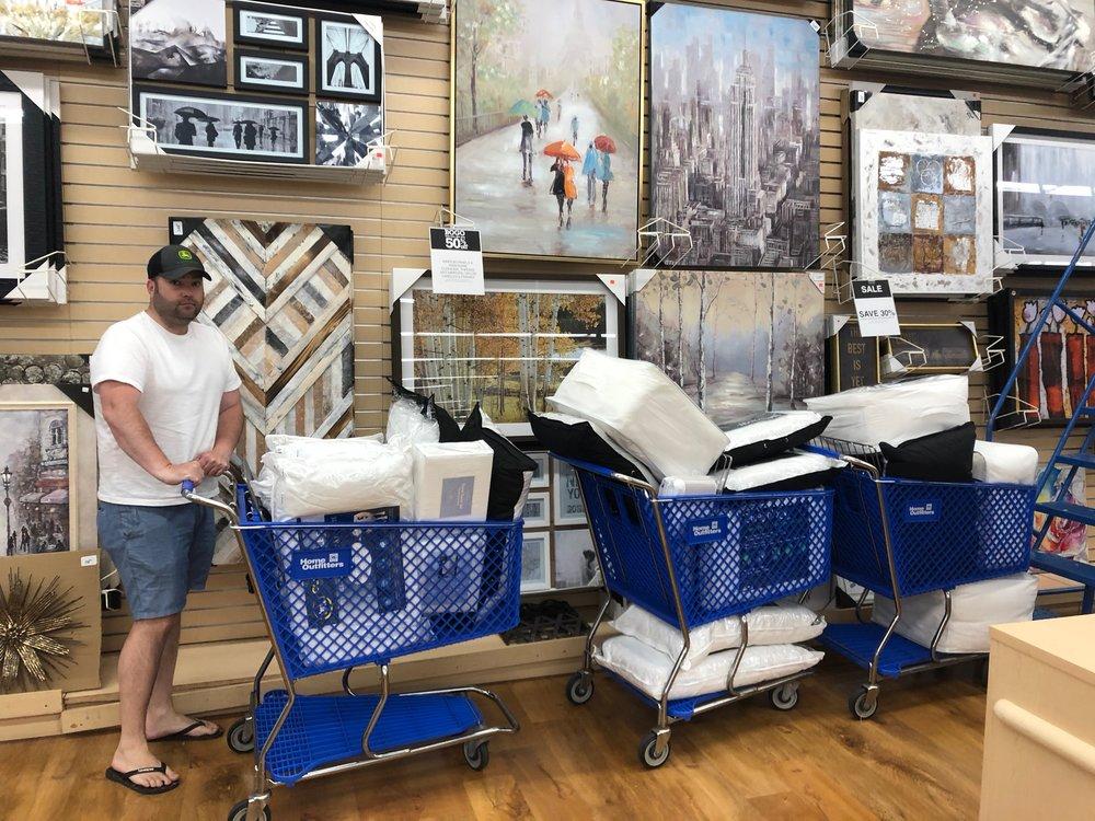 Linen shopping