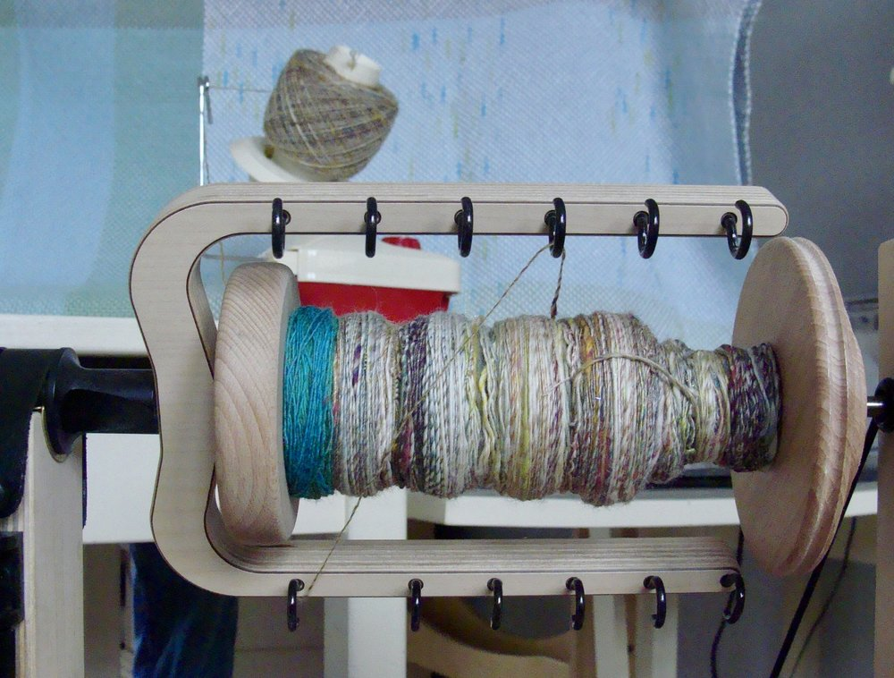 handspun-single-yarn-bobbin winder