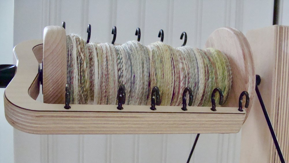 handspun single yarn
