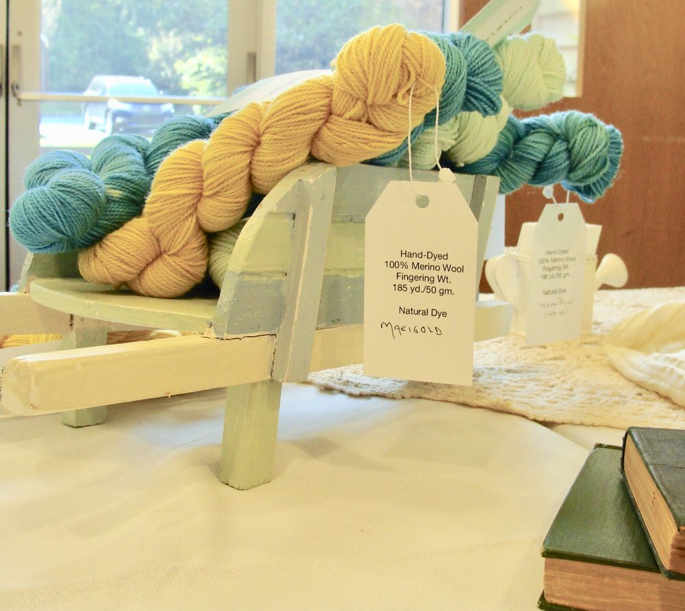Flora & Fiber hand-dyed items