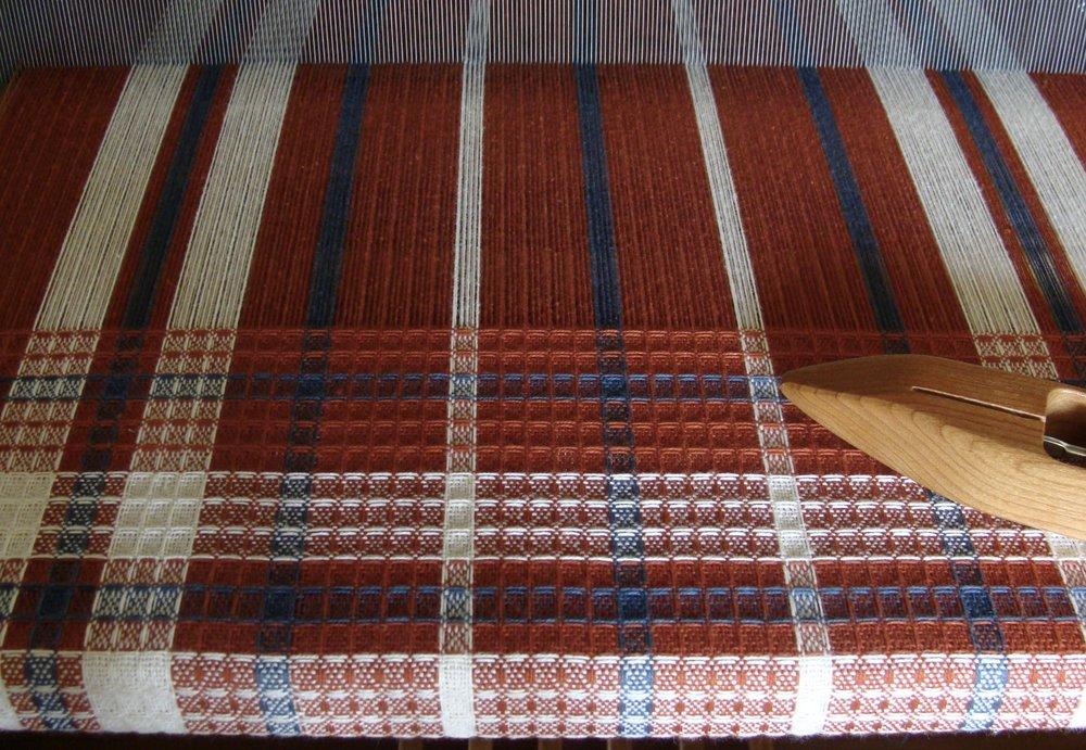 waffle weave & huck handwoven towels
