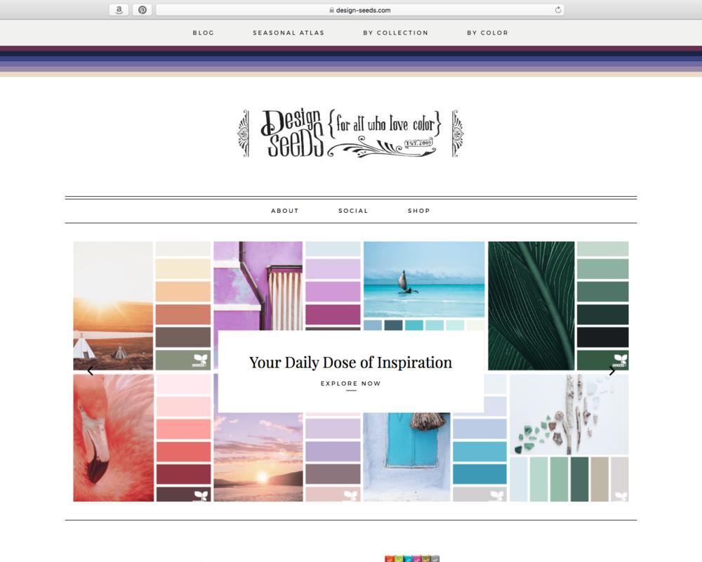 Design Seeds website