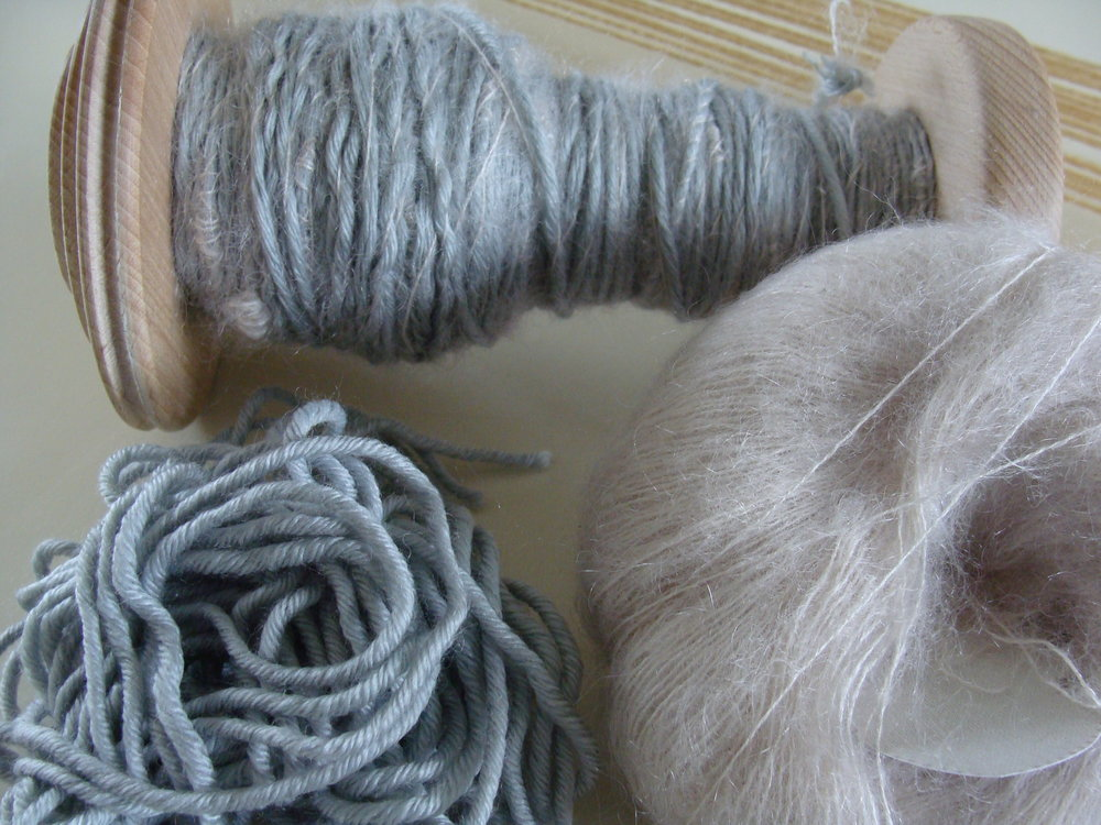 plied commercial yarns