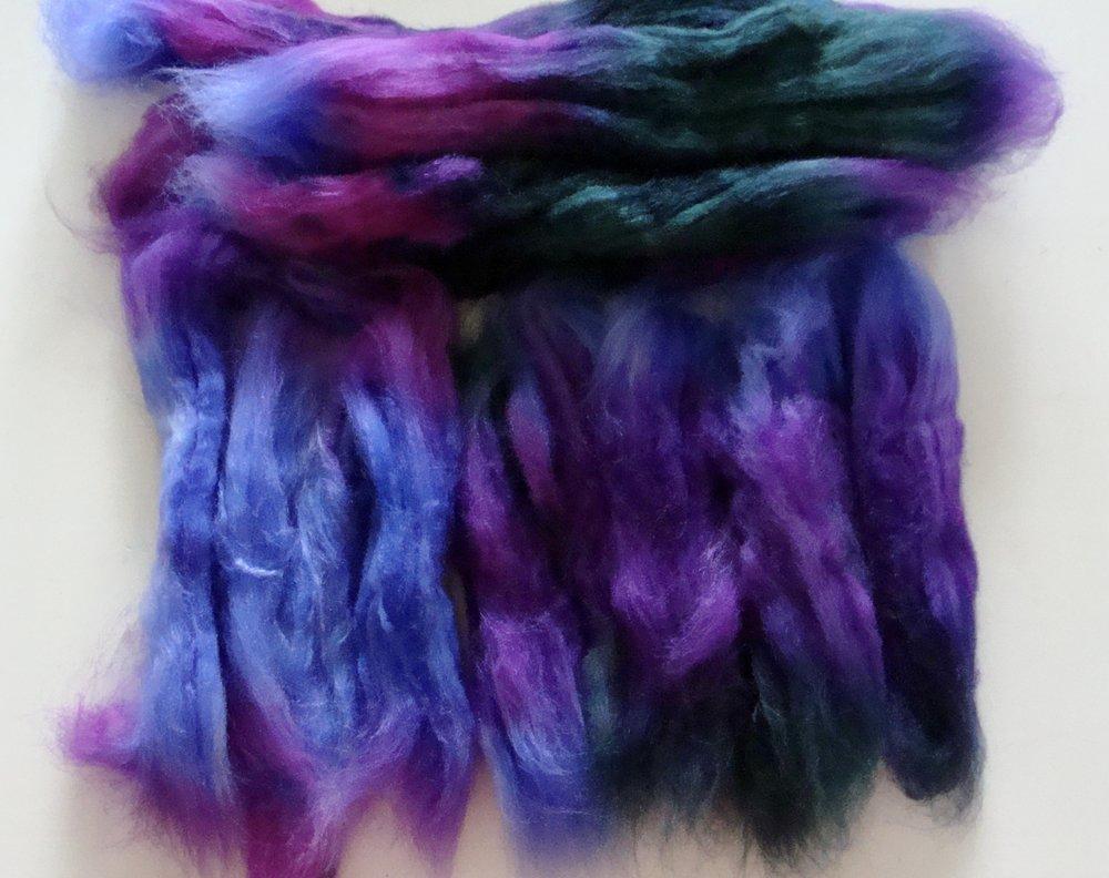 Merino Silk fiber