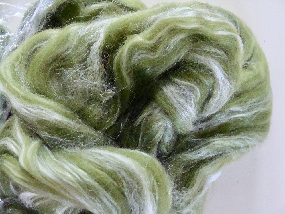 Merino Silk - Lichen