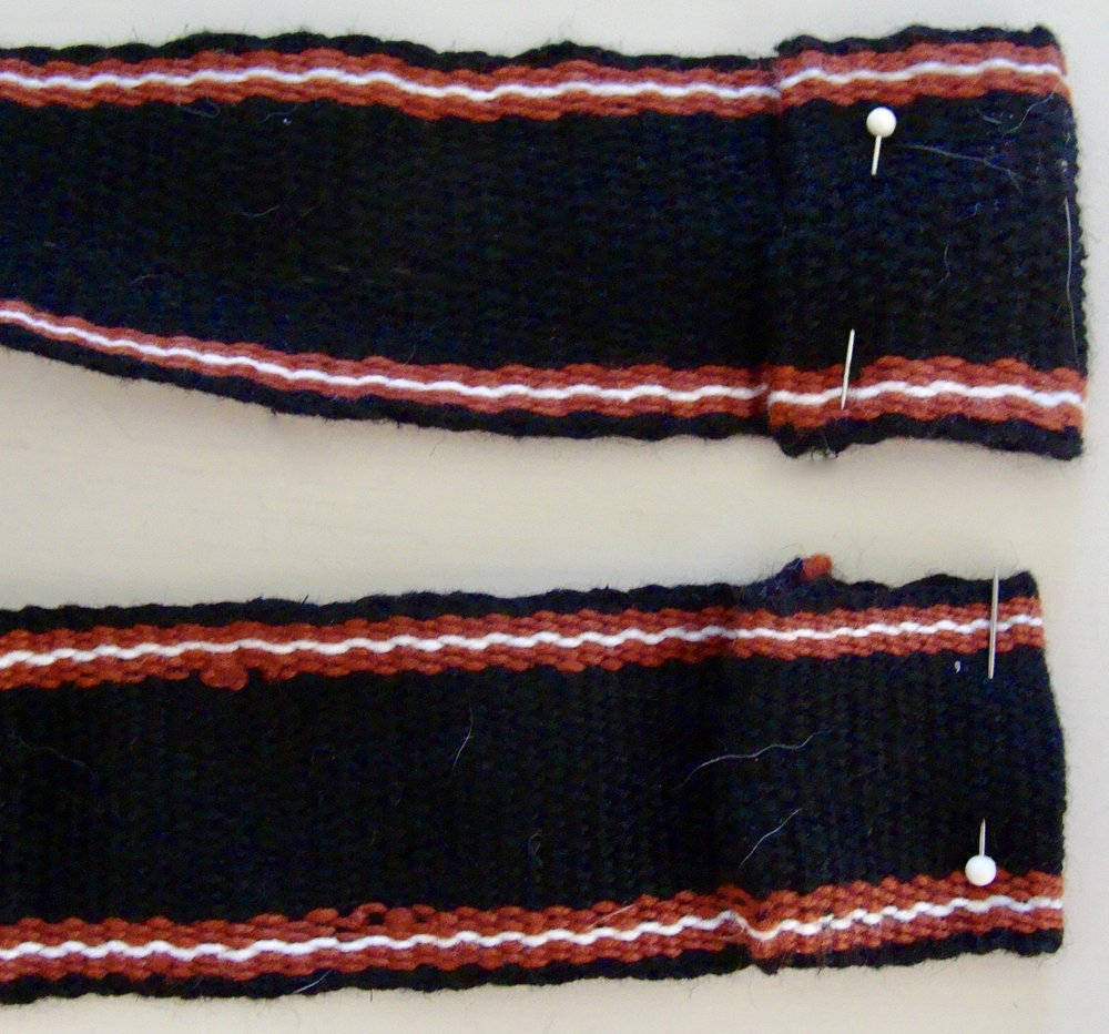 Handwoven Band on rigid heddle loom