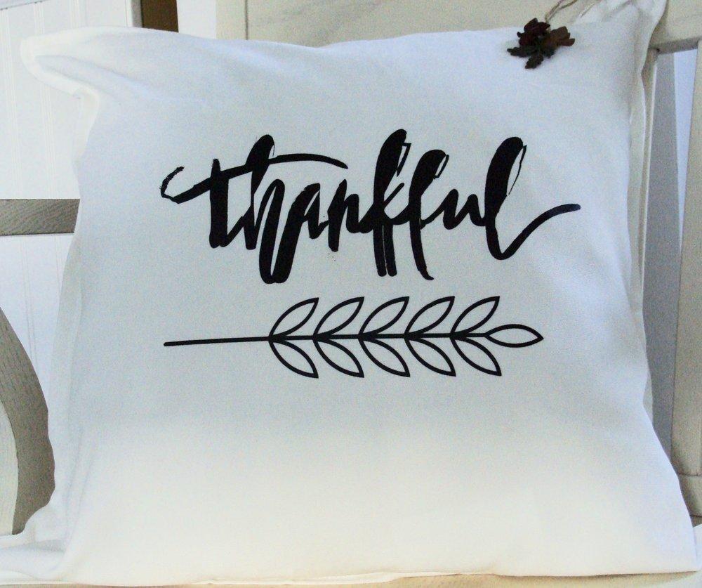 Fall Thankful Pillow