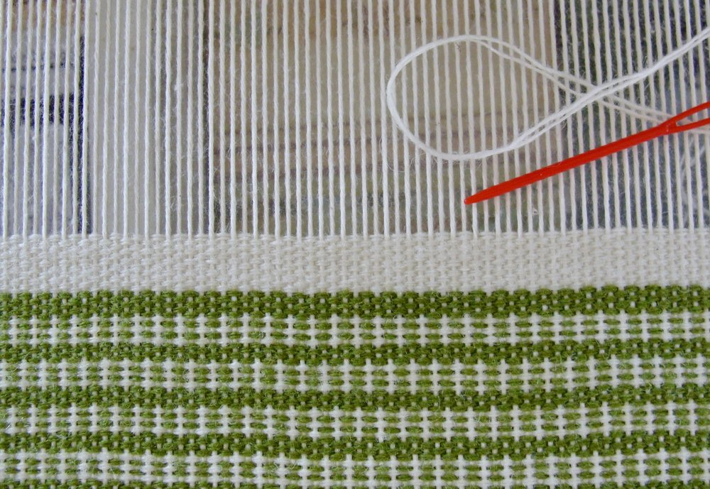 Sampler I - Weft Faced Plain Weave