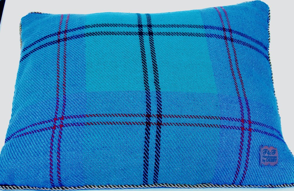Greenlaw tartan pillow