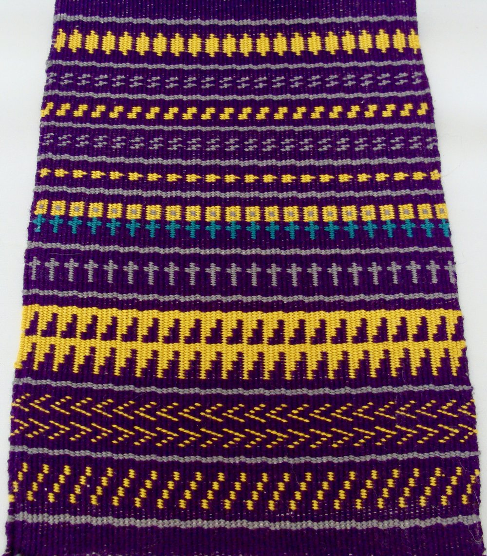 Pattern Weave Sampler II Twill 3/1