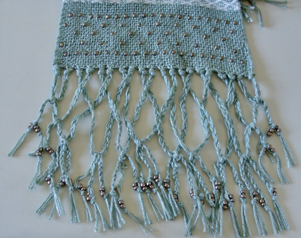braided beaded fringe