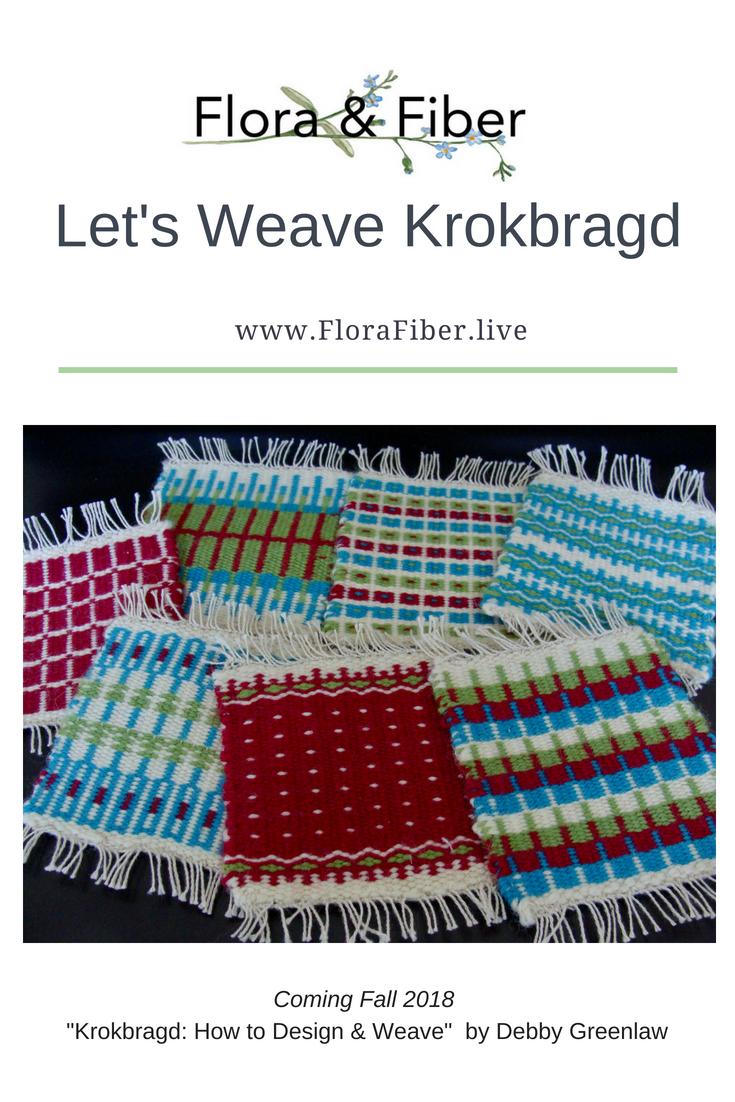 Let's Weave Krokbragd post
