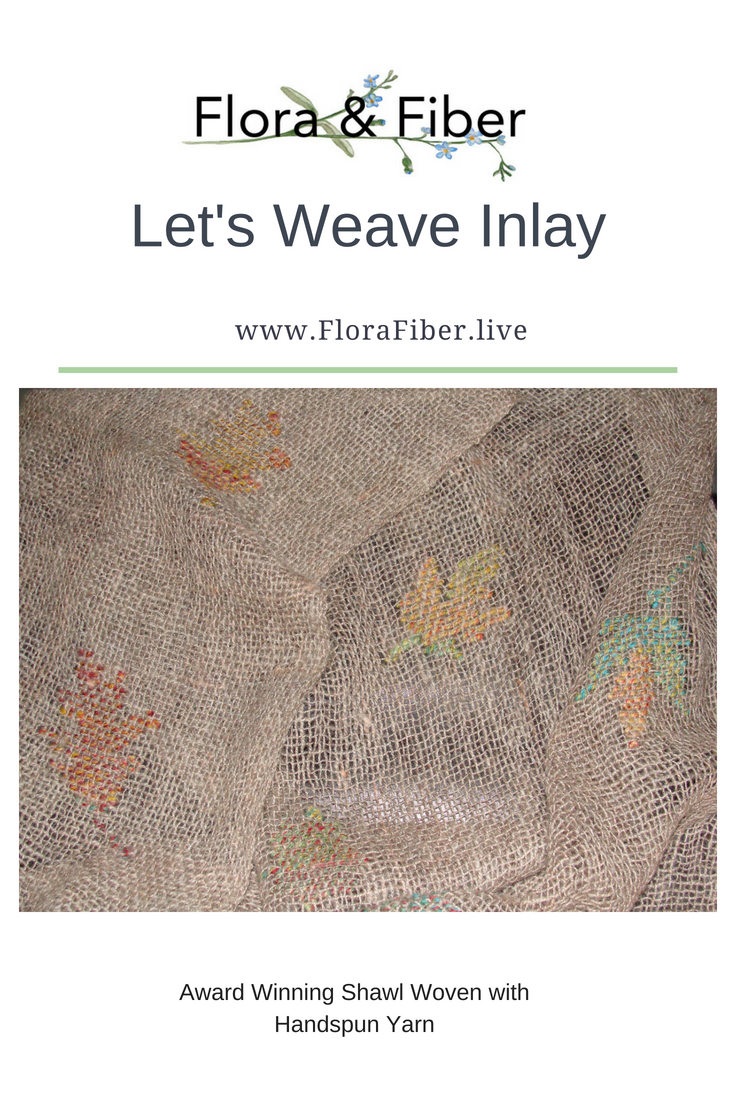 Let's Weave Inlay post
