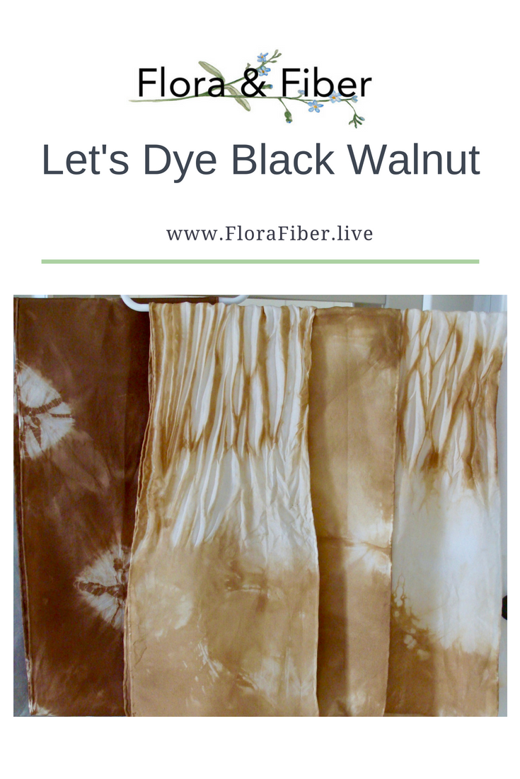 Let's Dye Black Walnut post