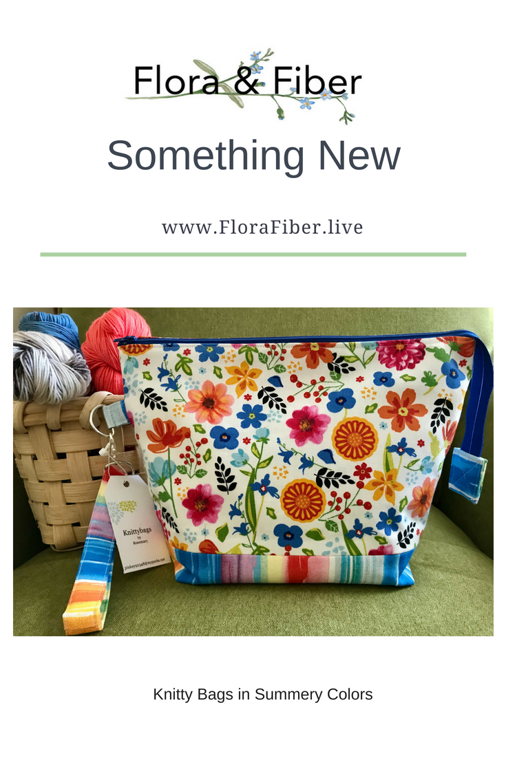 Something New blog post at Flora & Fiber