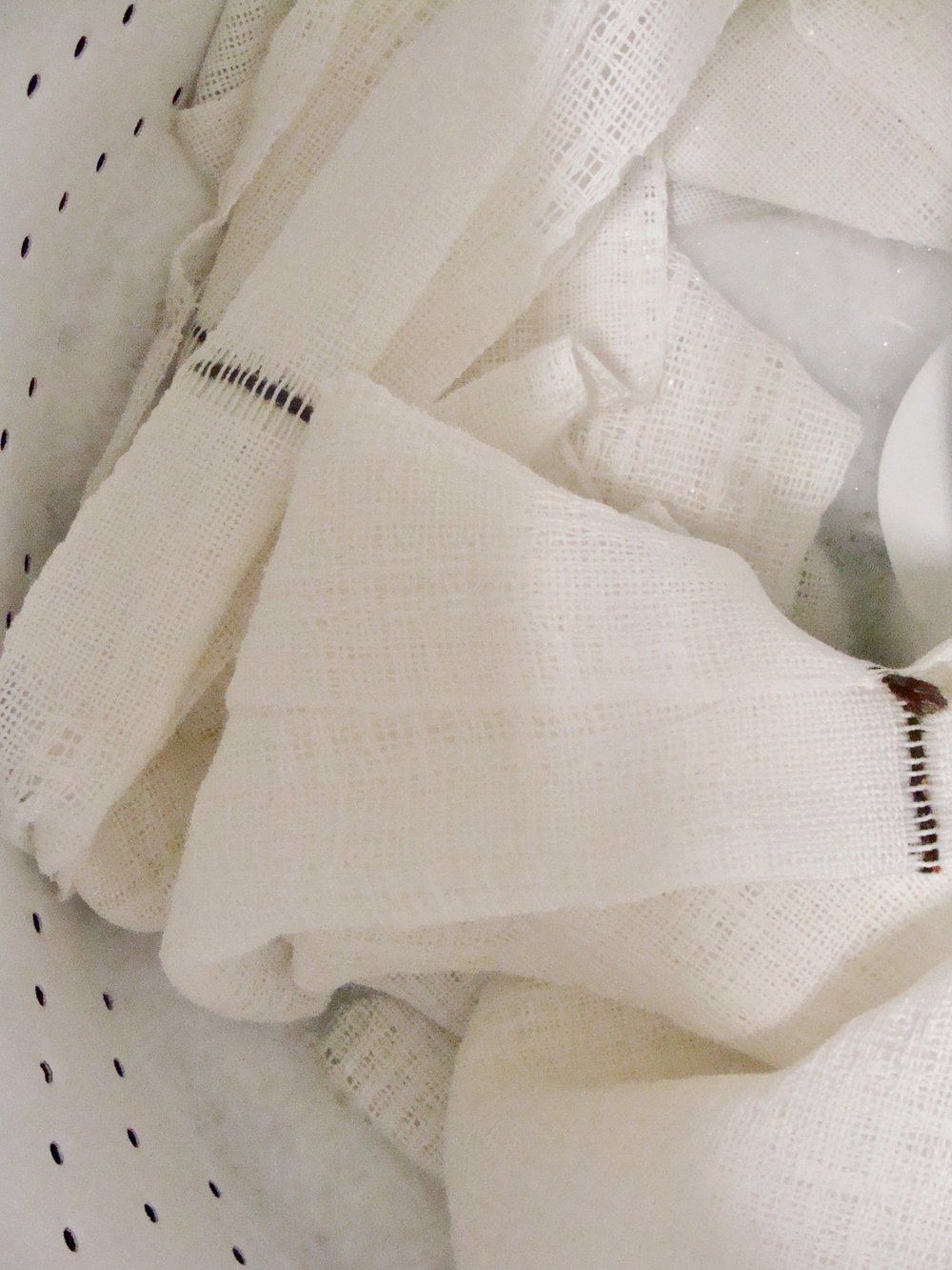 washing woven towels