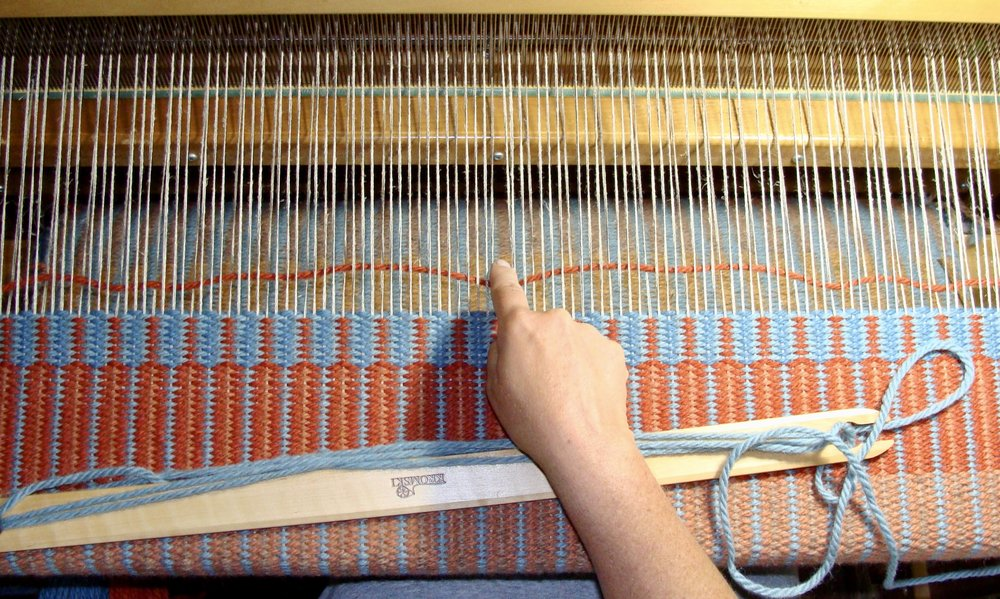 weaving krokbragd