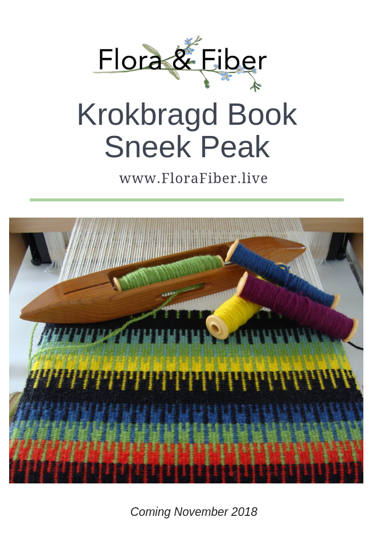 Krokbragd Book Sneak Peek pinnable graphic