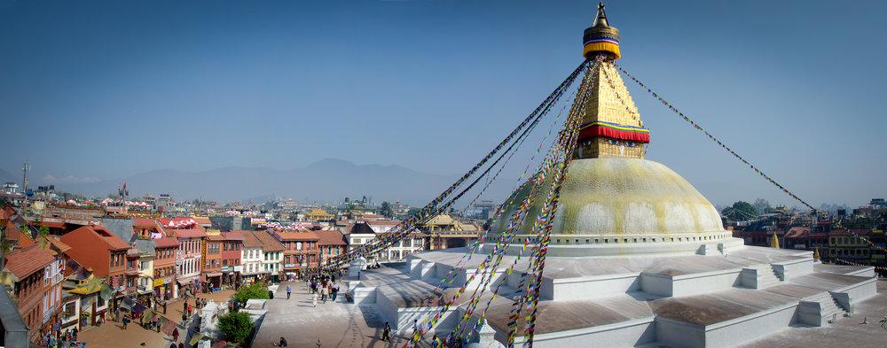 Boudha Stupa by LuCe