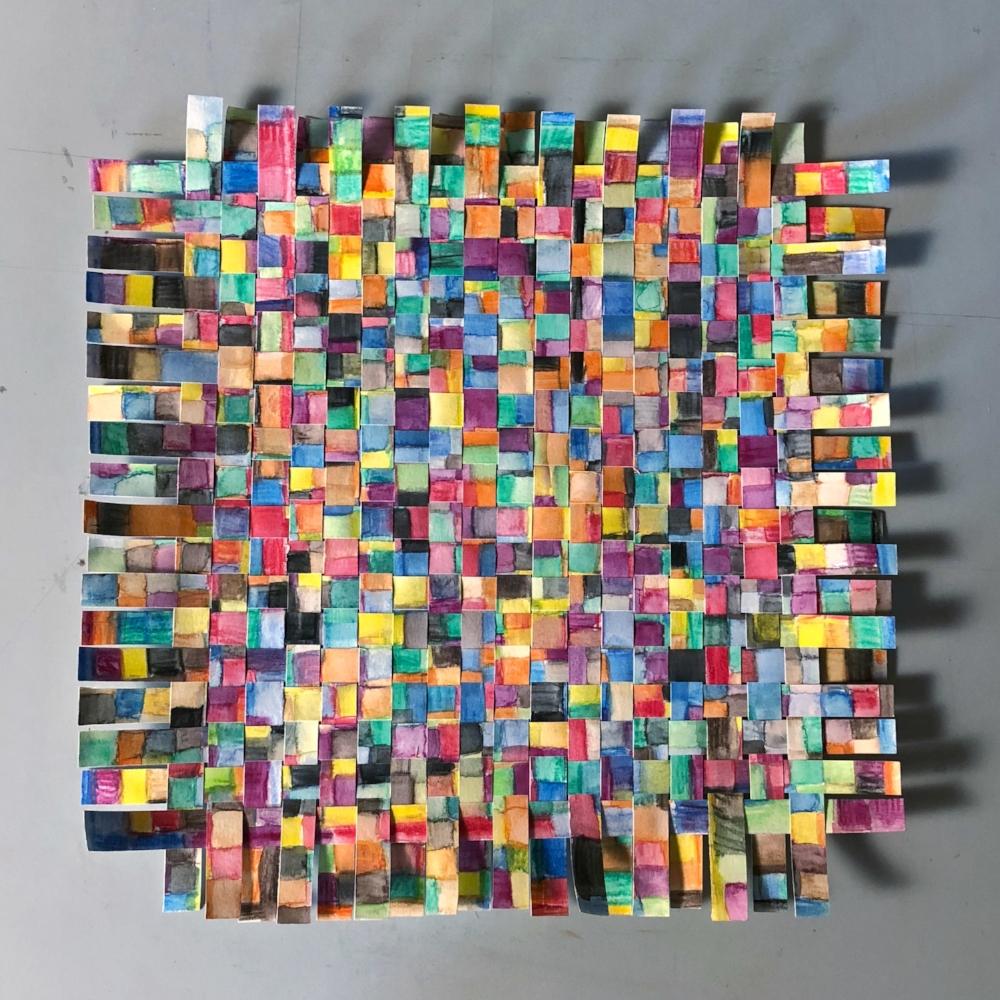 Carey Lin - Untitled (watercolor grid weave).jpg