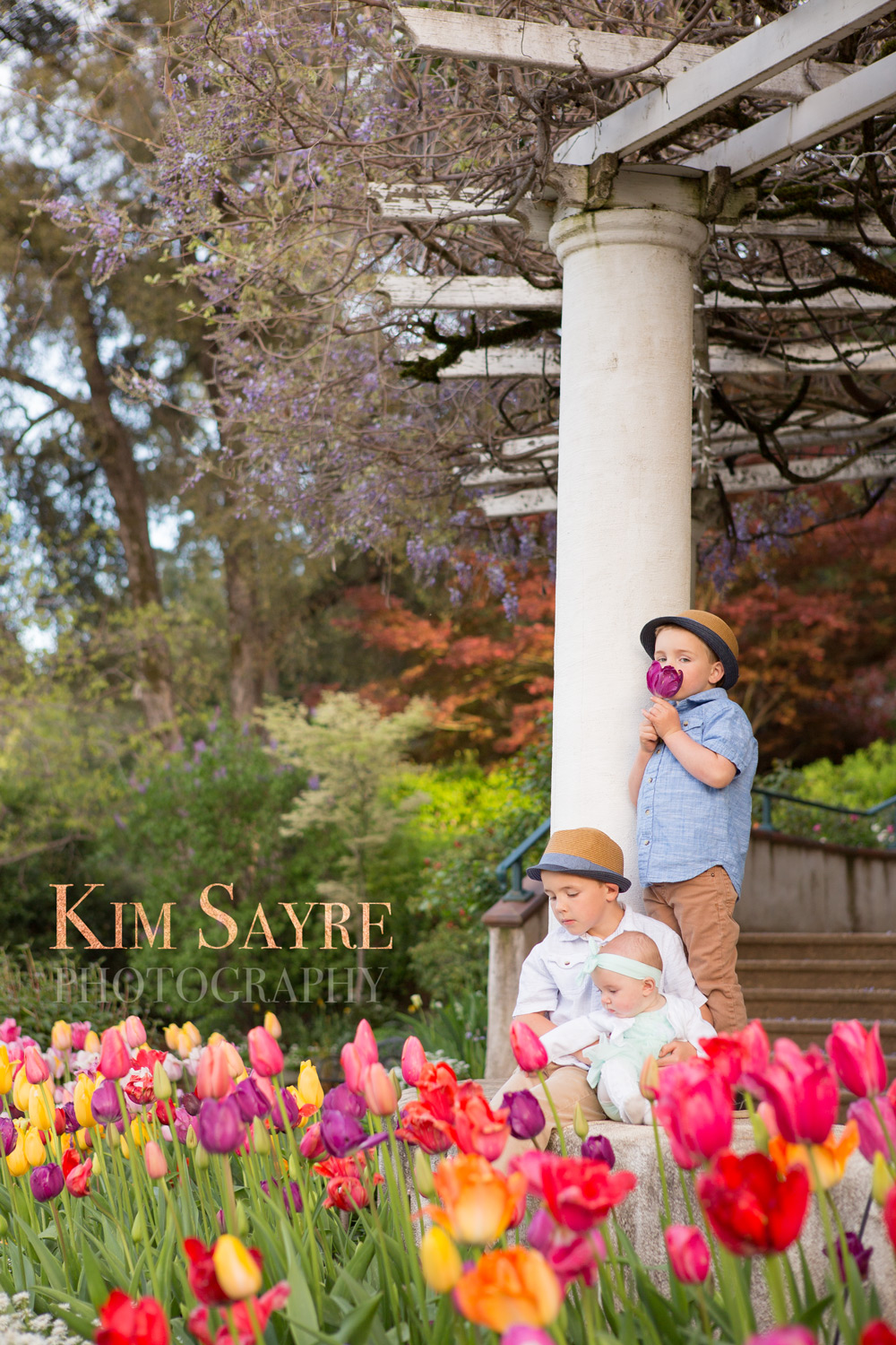Springtime family portraits at Ananda Village and the Crystal Hermitage