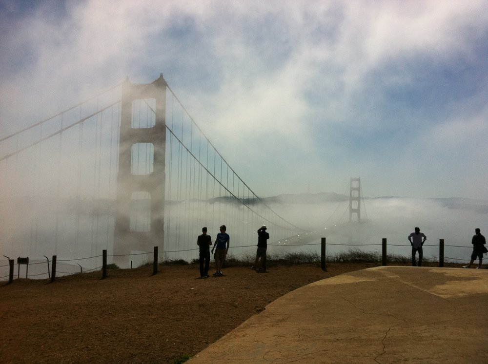 "<p><strong>Golden Gate</strong>In the Fog.<a href=""/bio"">More →</a></p>"