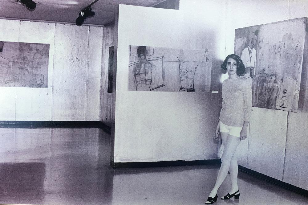 Lad Decker, Senior show at Kansas City Art Institute 1994