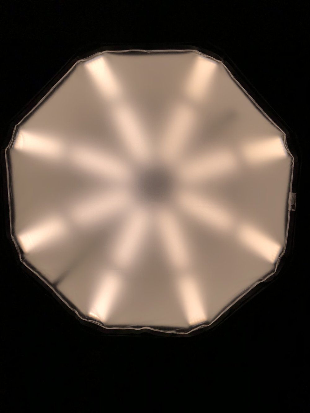 HALF SOFT FROST - The white vinyl product offers a unique scattering of light and allows more light to transmit and minimizing light loss. It's a gorgeous eye light, take a photo of that one in someone's eyes and you won't believe what you are seeing.