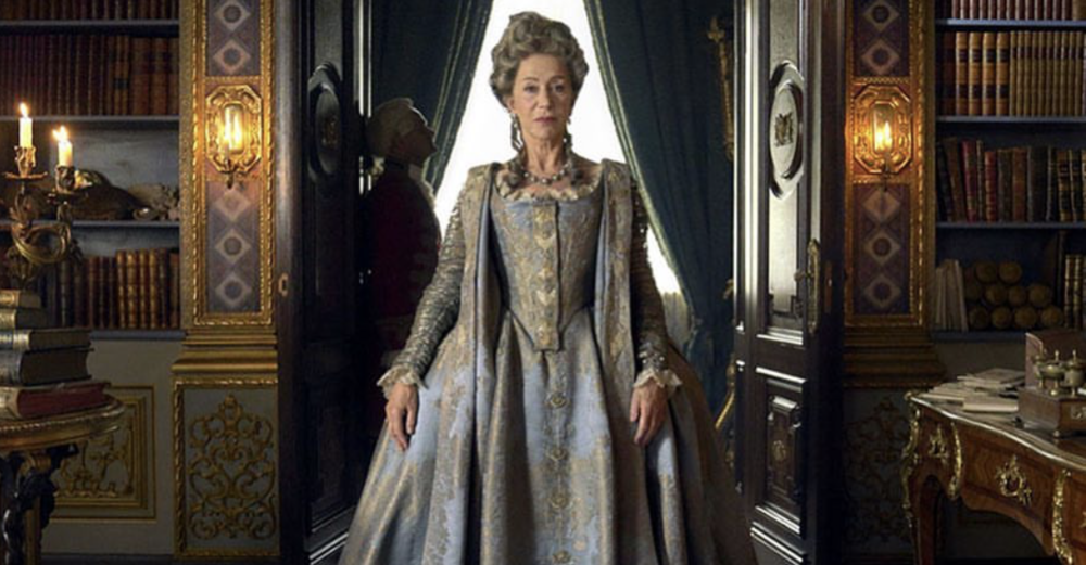 Helen Mirren ready for Catherine the Great and a Spidey or two