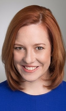 JEN PSAKI - Vice President for communications and strategy at the Carnegie Endowment fro International Peace and the former White House Communications Director.