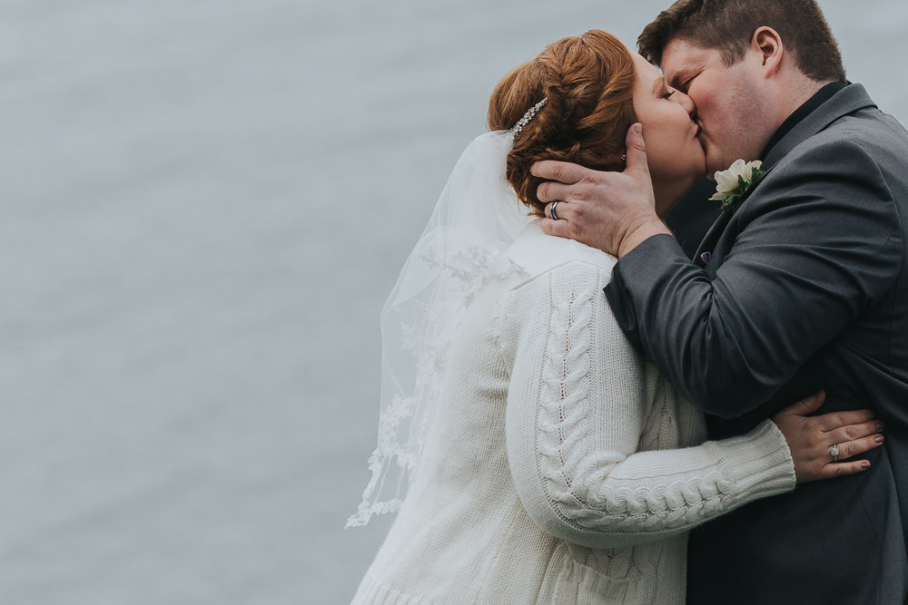 A waterside wedding in Sequim. - Lauren & Paul's beautiful big day.