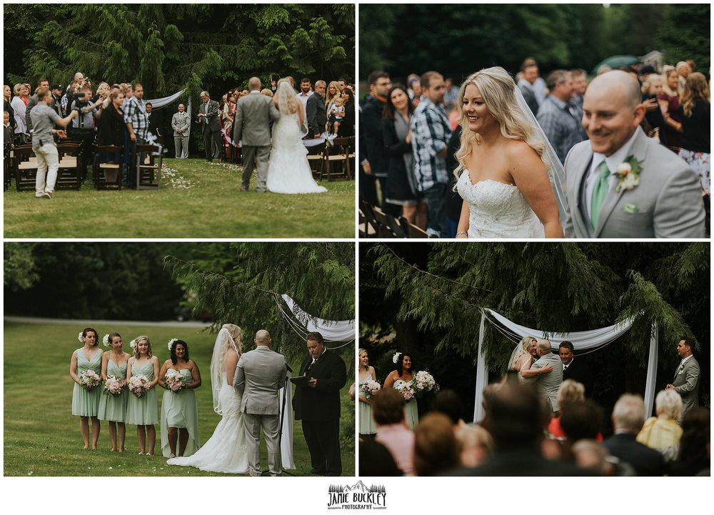 wedding ceremony montage