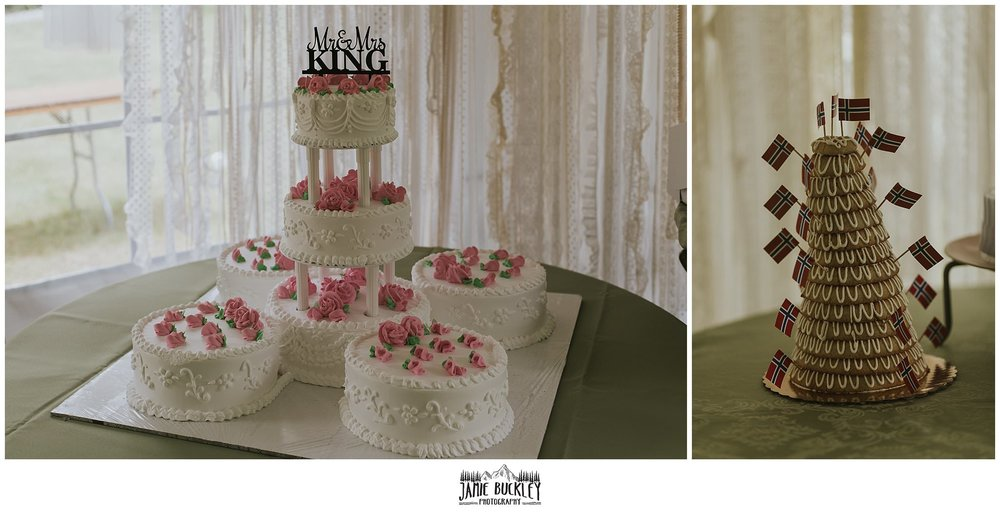 wedding cake close ups