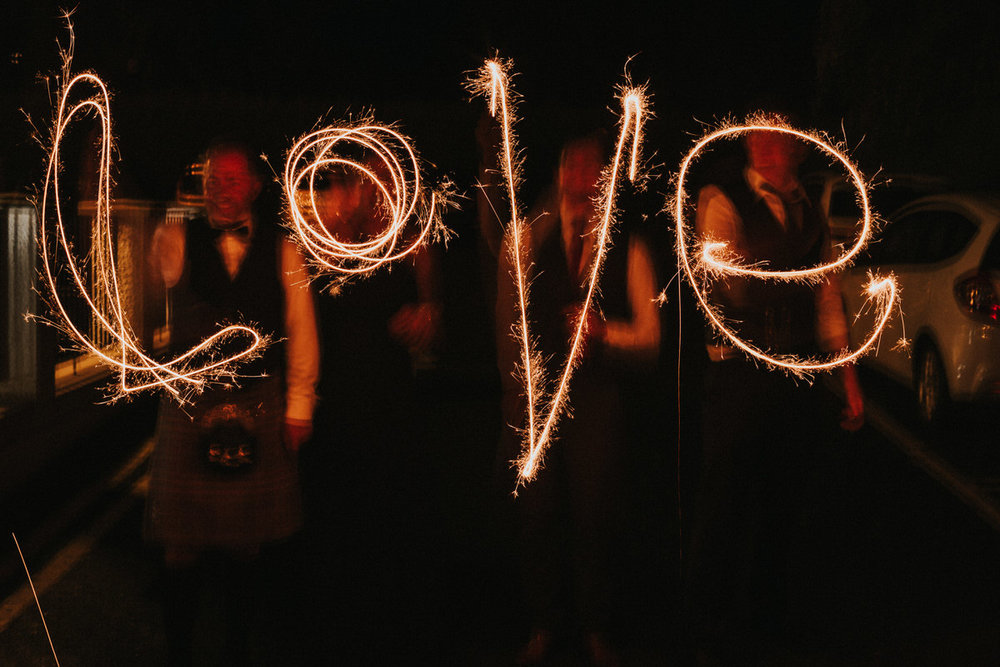 sparkler-love