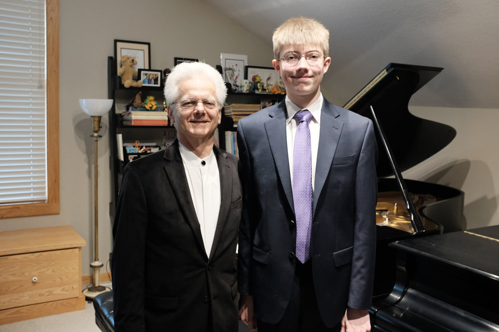 Calvin's Sophomore Recital with Dr. Wirth