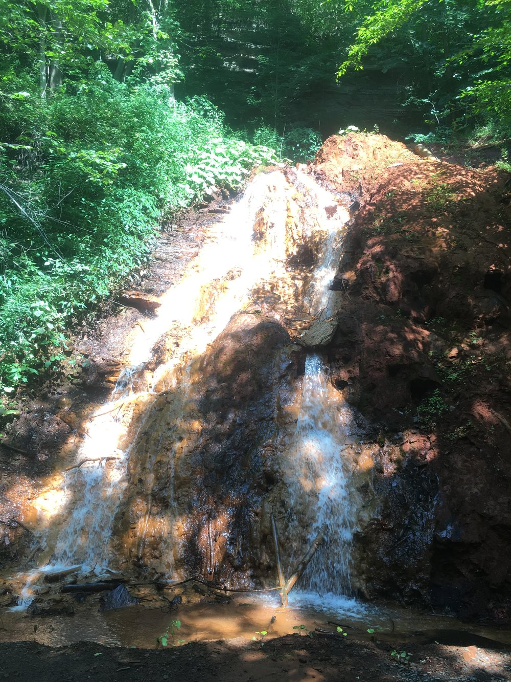 Red Rocks Waterfall