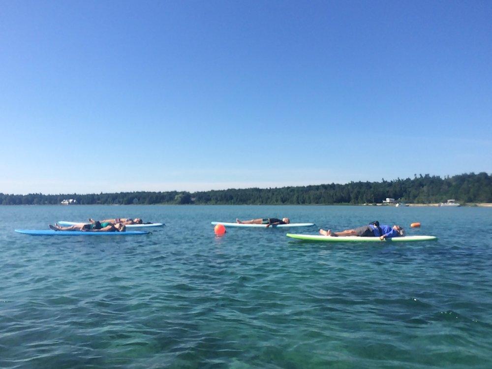 Beaver Island paddle board sup