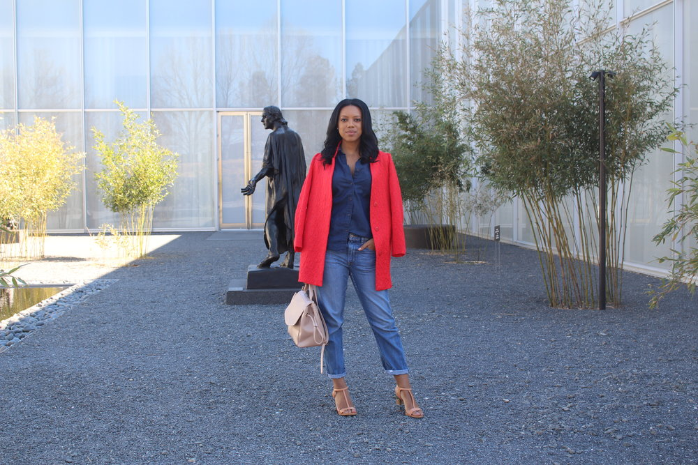 Jacket:ZARA (similar)|Top:  Uniqlo (similar)|Jeans:  Uniqlo |Shoes:ALDO  (old) |Bag: ZARA (similar)