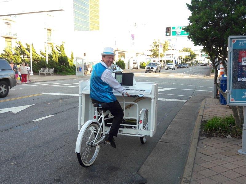 The Piano Bike!