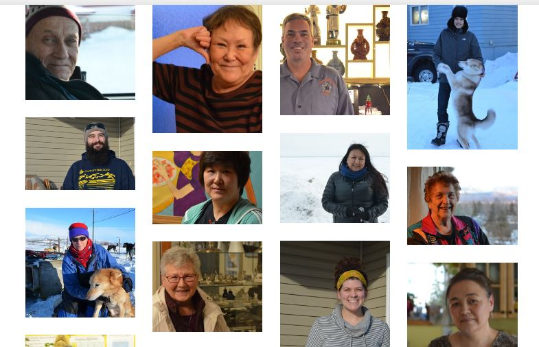 Selections from interviews with Alaskans telling their stories across the state