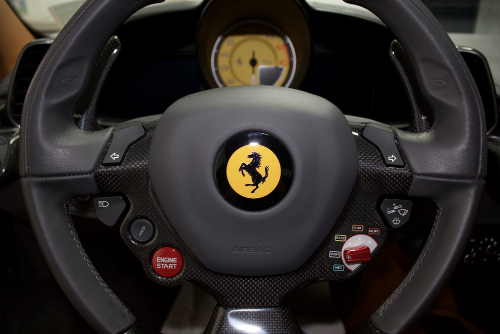 Ferrari Ultimate Interior Detail