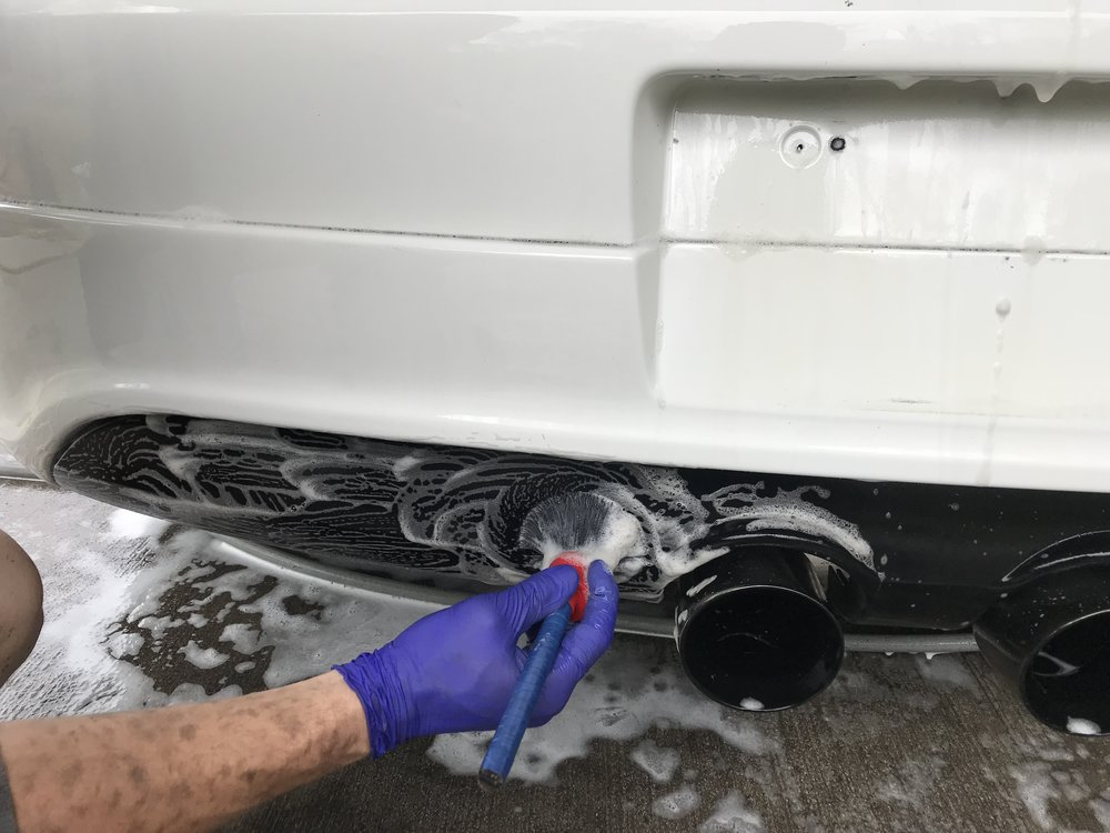 Cleaning Rear Valance
