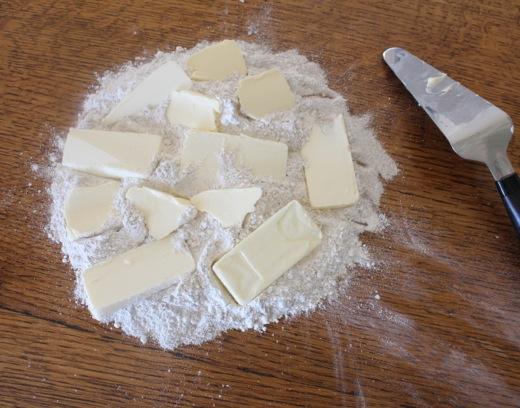 Sans-Mizer Rye Flour Dough