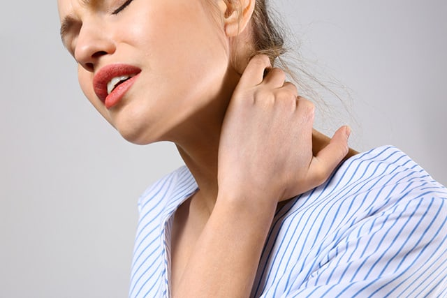 Suffering from neck pain due to a motor vehicle accident?