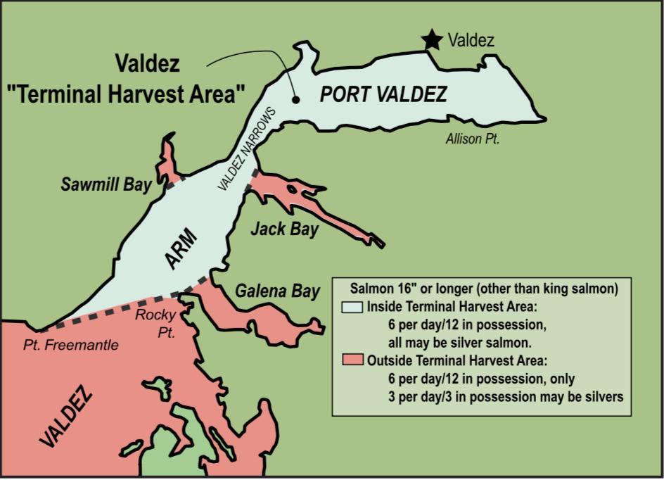 Valdez Terminal Harvest Area