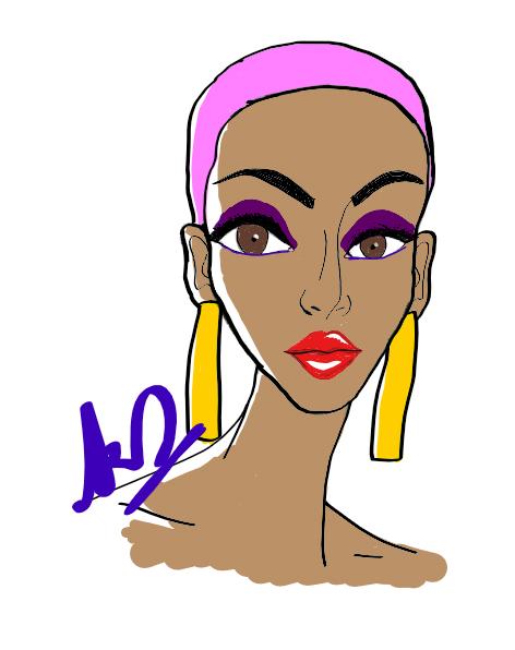 Lavender Hair 2018