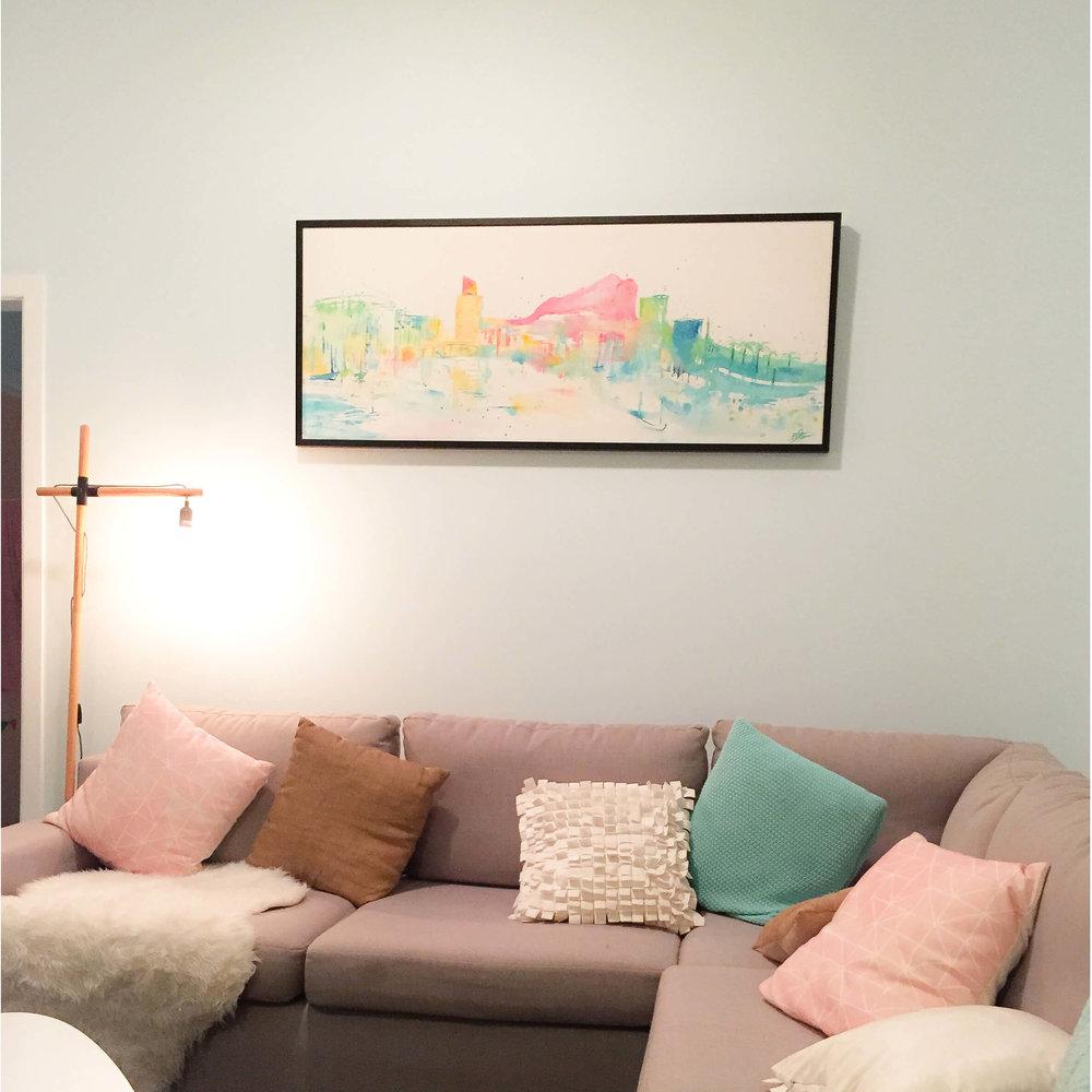Tsv Commission artwork in room.jpg